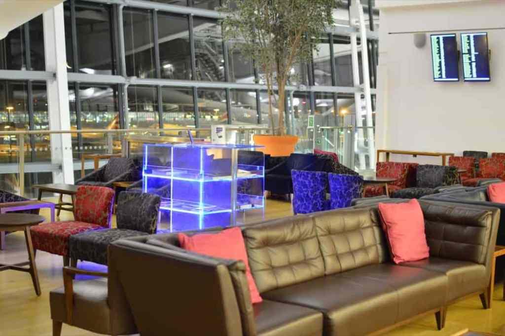 British Airways Lounge Galleries Terminal 5