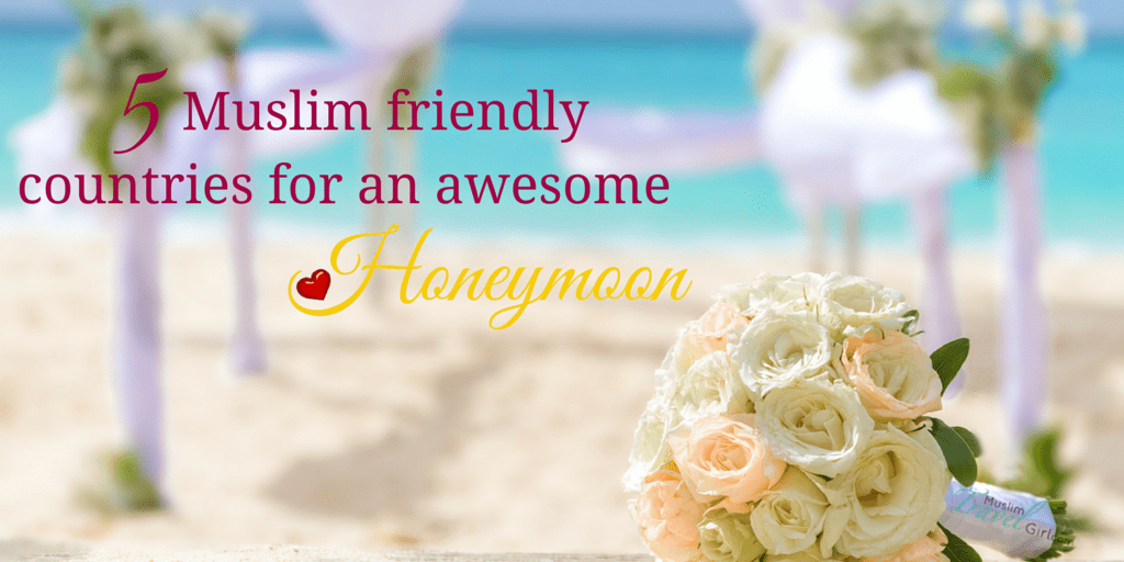 muslim friendly honeymoons