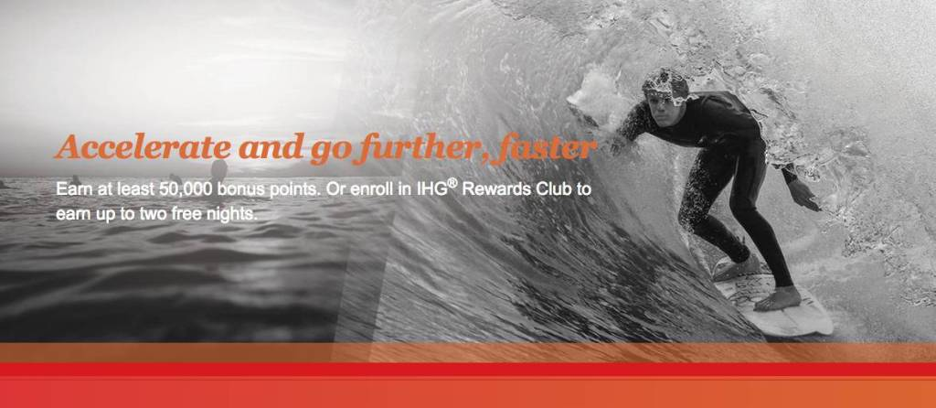 "Fall 2015 IHG Promotion ""Accelerate"" is the new promotion from IHG where new members can find a very good deal with two free nights after 4 nights."