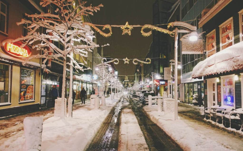 The Best Places To Spend Christmas, iceland