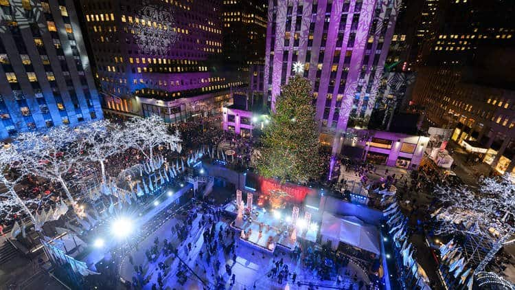 The Best Places To Spend Christmas, new york city
