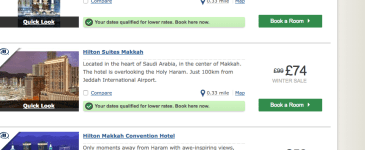 Amazing Hilton Hotel Offers for Makkah from 59GBP