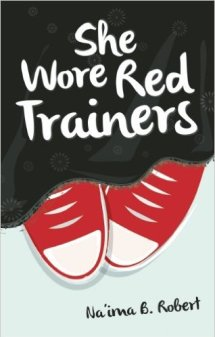 She Wore Red Trainers Book Cover