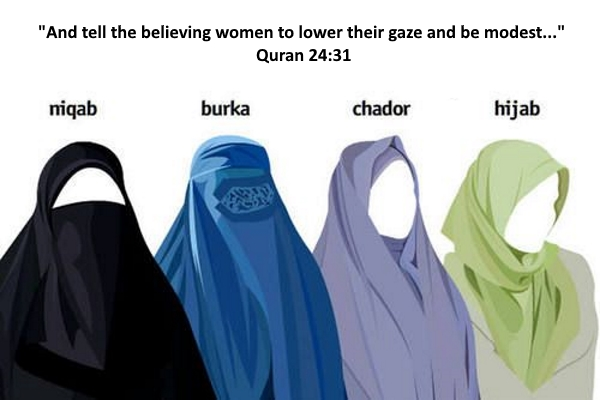 The different types of islamic veils and why they are worn. Hijab Vs Niqab A Matter Of Emphasis