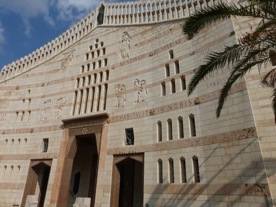 13. Nazaret - Bazylika Zwiastowania