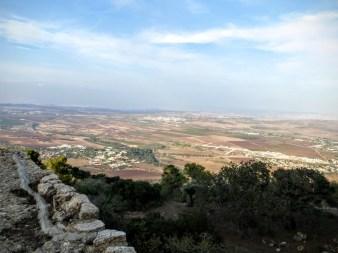 16. Góra Tabor - widok