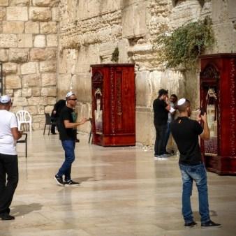 28. Jerozolima - pod Ścianą Płaczu