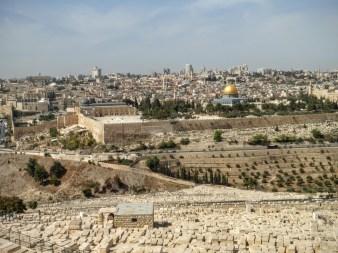38. Jerozolima - widok z Góry Oliwnej