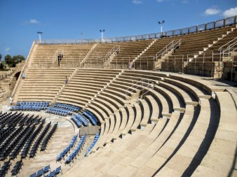 4. Cezarea - amfiteatr