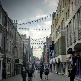 4. Edynburg - uliczka
