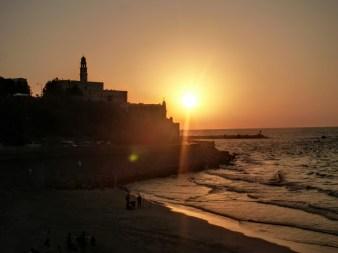 50. Tel Aviv - zachód słońca