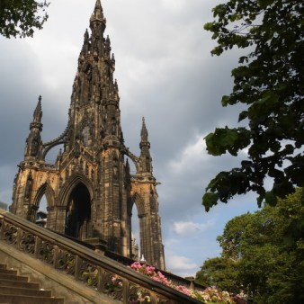 7. Edynburg - Scott Monument