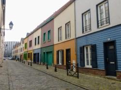 Domy w dzielnicy Saint-Leu