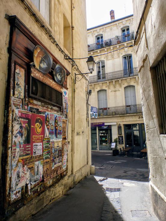 uliczki montpellier