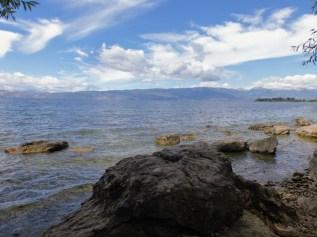 Piękne jezioro Ochrydzkie