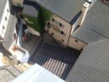 Burghof vom Turm