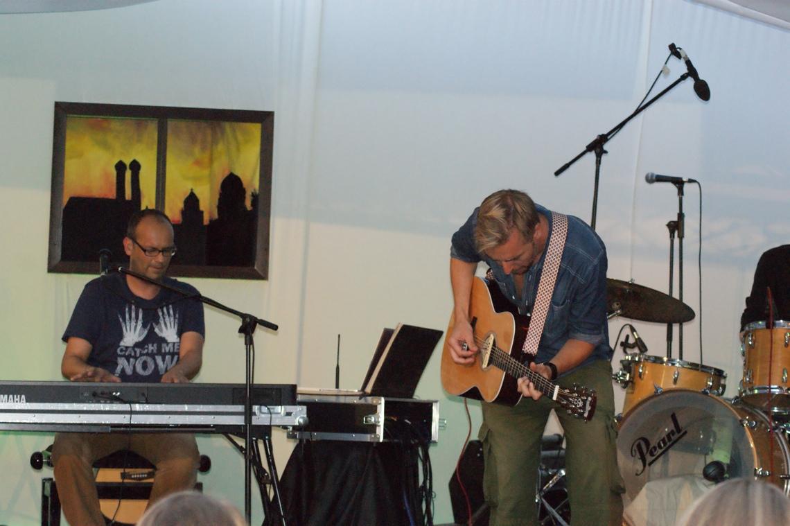 alex sebastian und Tobi Röckl, BurgSongFest