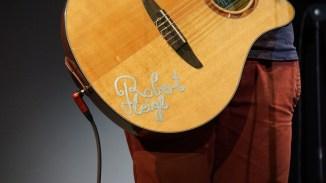 Robert Heigls Gitarre