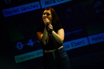 Auch a capella umwerfend: Nektar Sofia