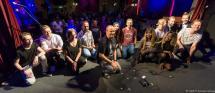 Die KünsterInnen des 57. MuSoC #open im Gruppenbild.
