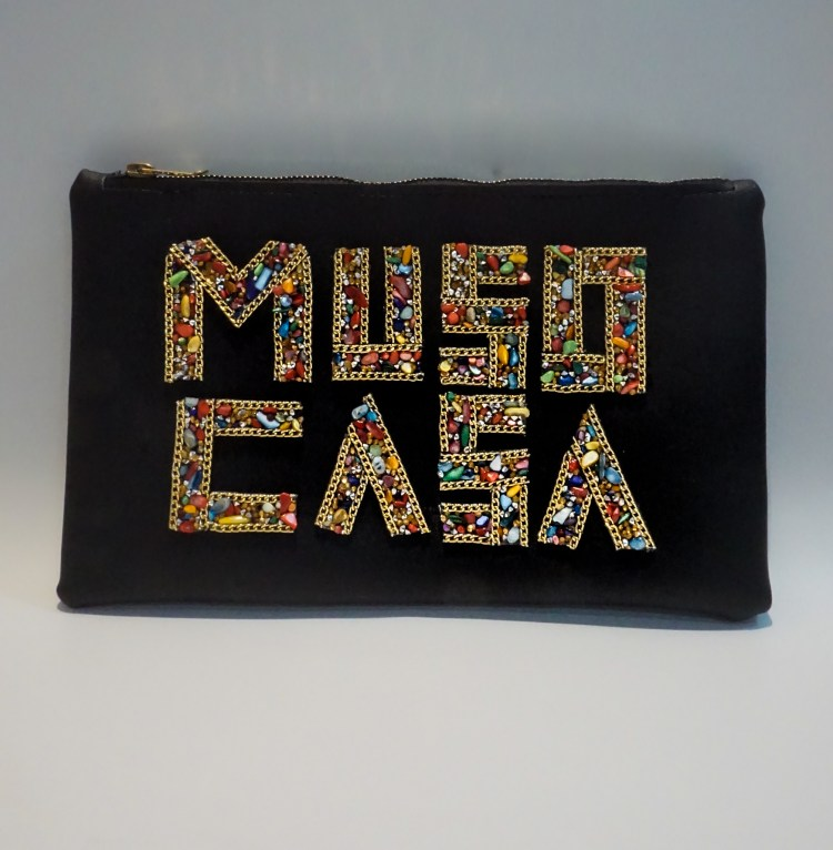 Muso Casa Black Clutch