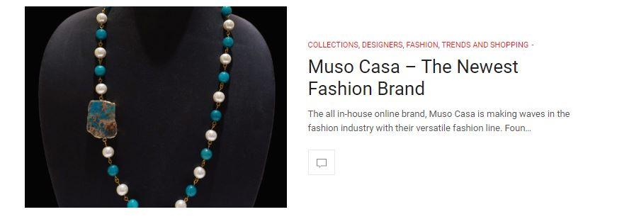 Muso Casa in LA fashion magazine