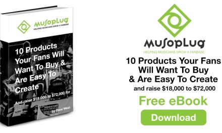 Free Ebook – 10 Products your fans will want to buy & are easy to create