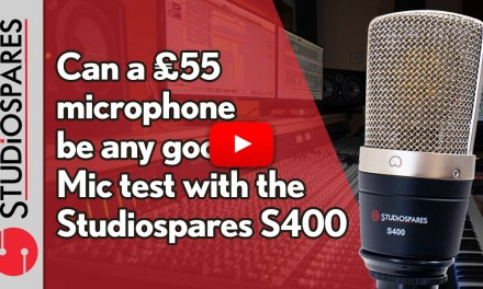 Can a £55 mic be any good? The Studiospares S400 appears to be