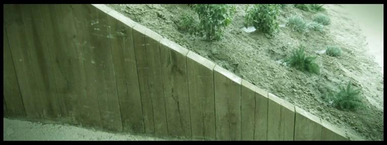 construcción talud jardín aravaca