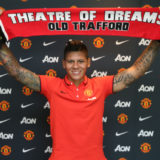 Manchester United Unveil New Signing Marcos Rojo
