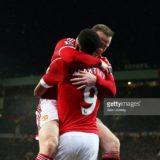 Rooney och Martial