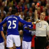 during the Barclays Premier League match between Liverpool and Everton at Anfield, April 20, 2016, Liverpool, England