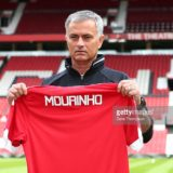 MANCHESTER, ENGLAND - JULY 5: New Manchester United manager Jose Mourinho during his introduction to the media at Old Trafford on July 5, 2016 in Manchester, England. (Photo by Dave Thompson/Getty Images) *** Local Caption *** Jose Mourinho