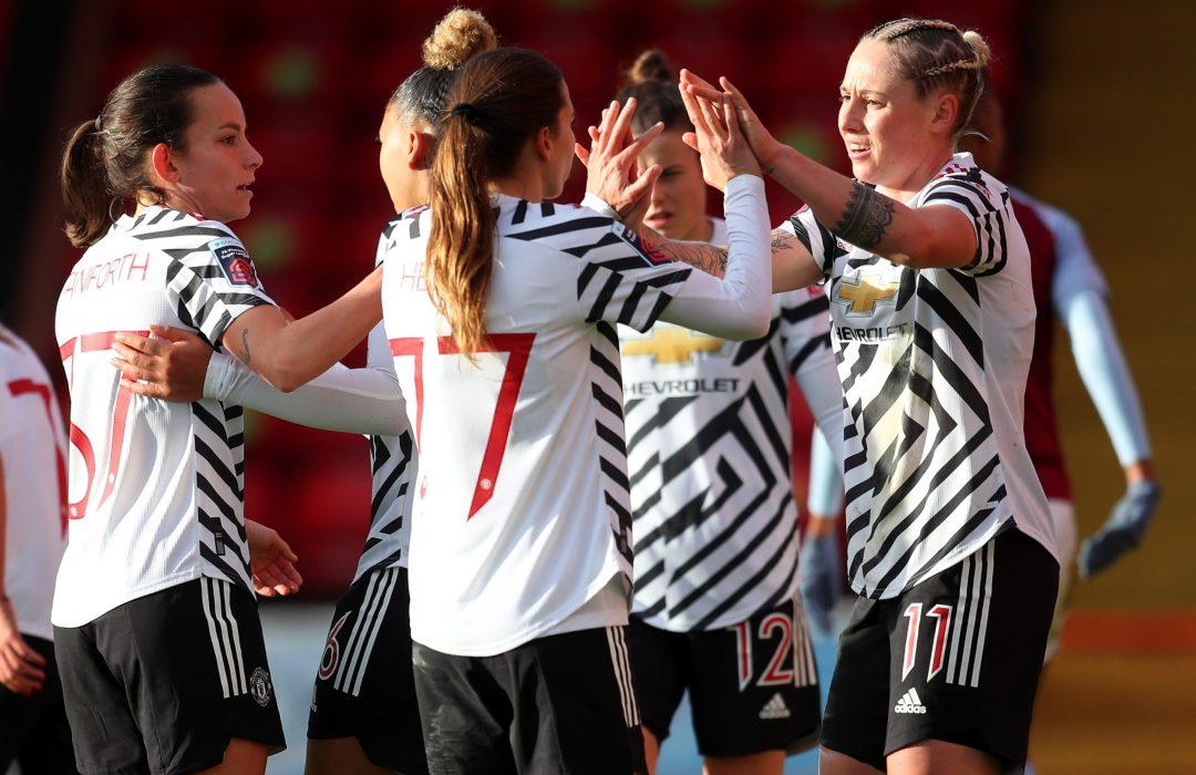 Aston Villa Women v Manchester United Women - Barclays FA Women's Super League