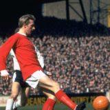 Mar 1968:  Denis Law of Manchester United.  Mandatory Credit: Allsport UK /Allsport