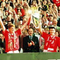 Manchester Uniteds ligatitel 1994: Make mine a double