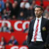 MANCHESTER, ENGLAND - APRIL 26:  Interim Manager Ryan Giggs of Manchester United watches from the touchline during the Barclays Premier League match between Manchester United and Norwich City at Old Trafford on April 26, 2014 in Manchester, England.  (Photo by Matthew Peters/Manchester United via Getty Images)