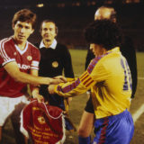 European Cup Winners Cup Quarter-Final Second Leg: Manchester United v Barcelona