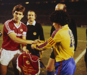 European Cup Winners Cup Quarter-Final Second Leg: Manchester United v Barcelona