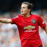Hayley Ladd of Manchester United Women  Manchester City Women vs Manchester United Women, WSL football match, Etihad Stadium, Manchester, UK - 07 Sep 2019 Photo: Lynne Cameron for The FA