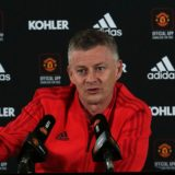 MANCHESTER, ENGLAND - APRIL 01: (EXCLUSIVE COVERAGE) Manager Ole Gunnar Solskjaer of Manchester United speaks during a press conference at Aon Training Complex on April 01, 2019 in Manchester, England. (Photo by Matthew Peters/Man Utd via Getty Images)