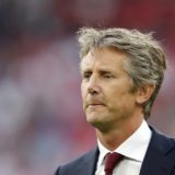 Ajax general director Edwin van der Sar during the Dutch Eredivisie match between Ajax Amsterdam and FC Emmen at the Johan Cruijff Arena on August 10, 2019 in Amsterdam, The Netherlands