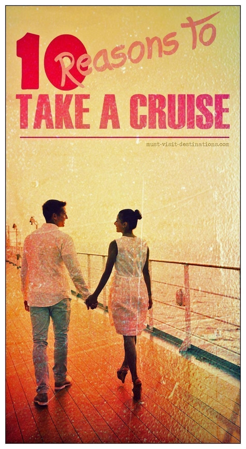 TOP 10 Reasons to Take a Cruise #cruise #travel