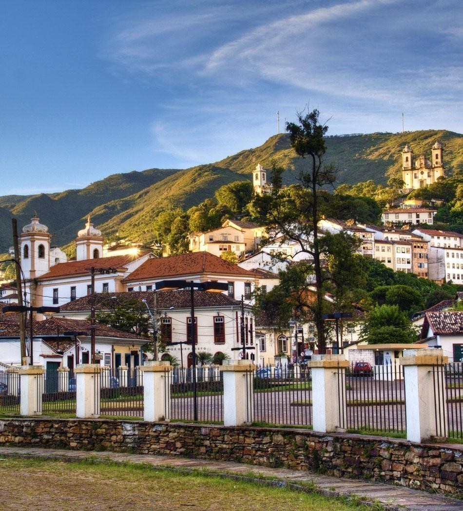 View over the colonial town of Ouro Preto | Brazil Travel Guide