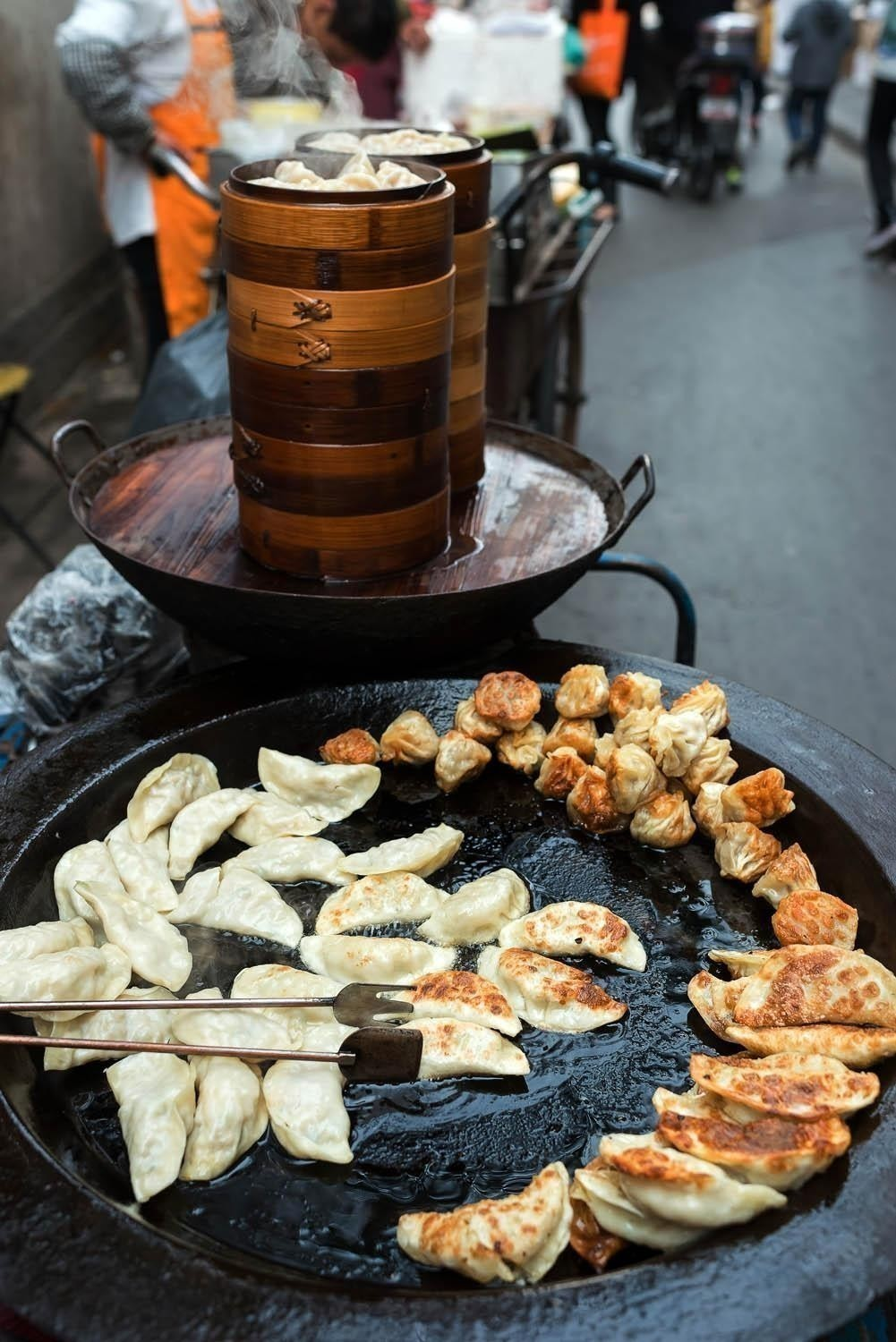 Traditional chinese street food cuisine in Shanghai | China Travel Guide