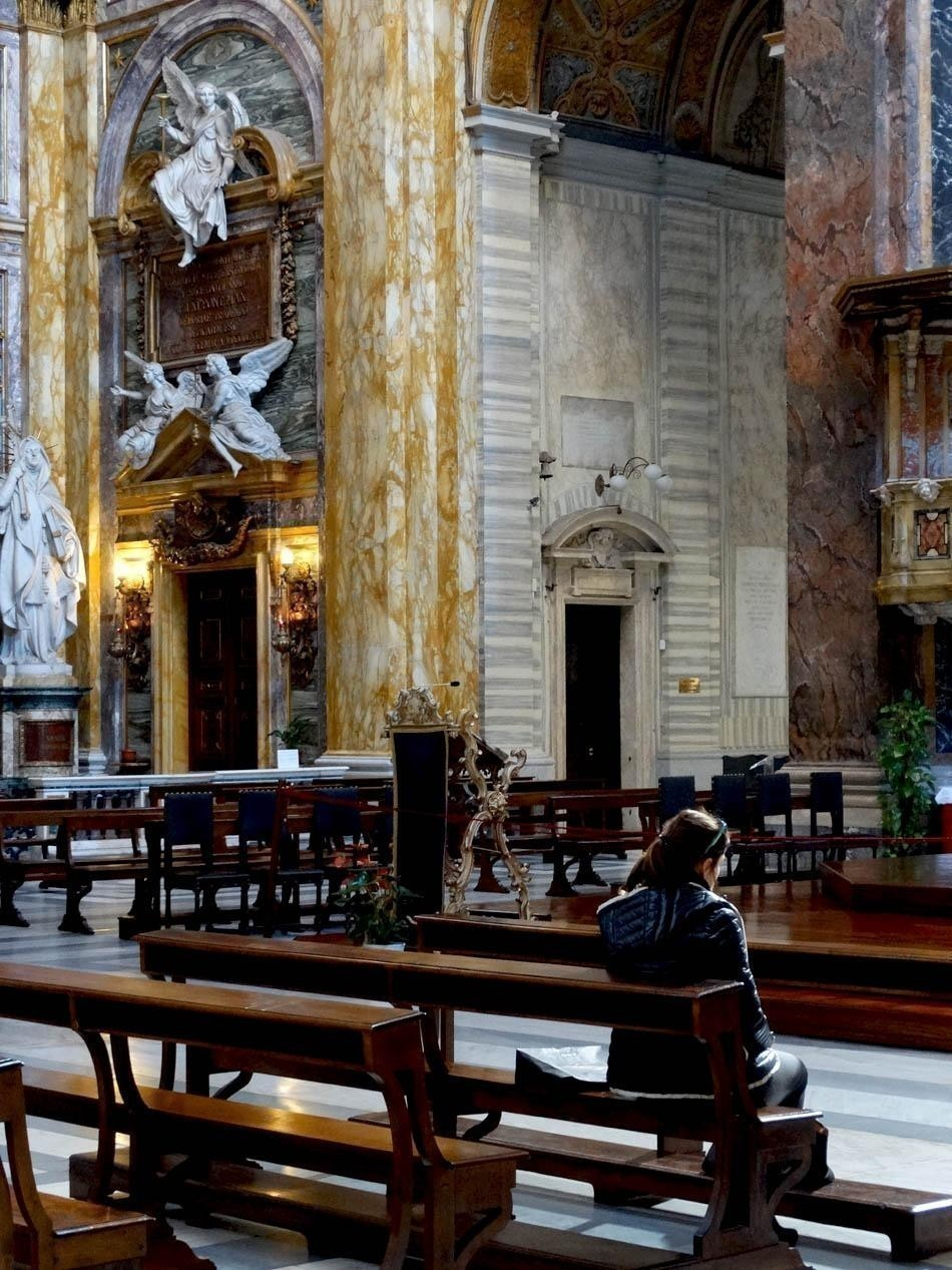 Basilica San Carlo al Corso, Rome | What to do in a rainy day in Rome - the Eternal City