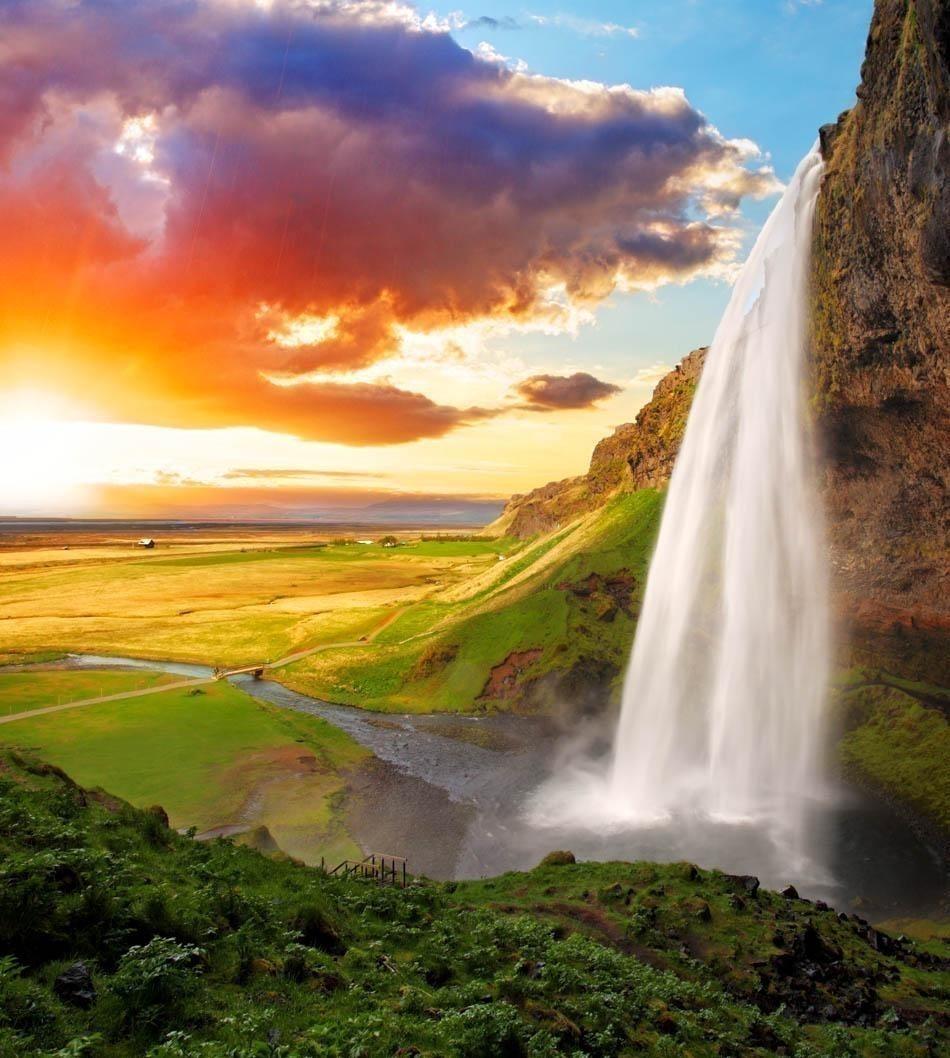 Seljalandsfoss Waterfall, Iceland | Iceland Travel Guide