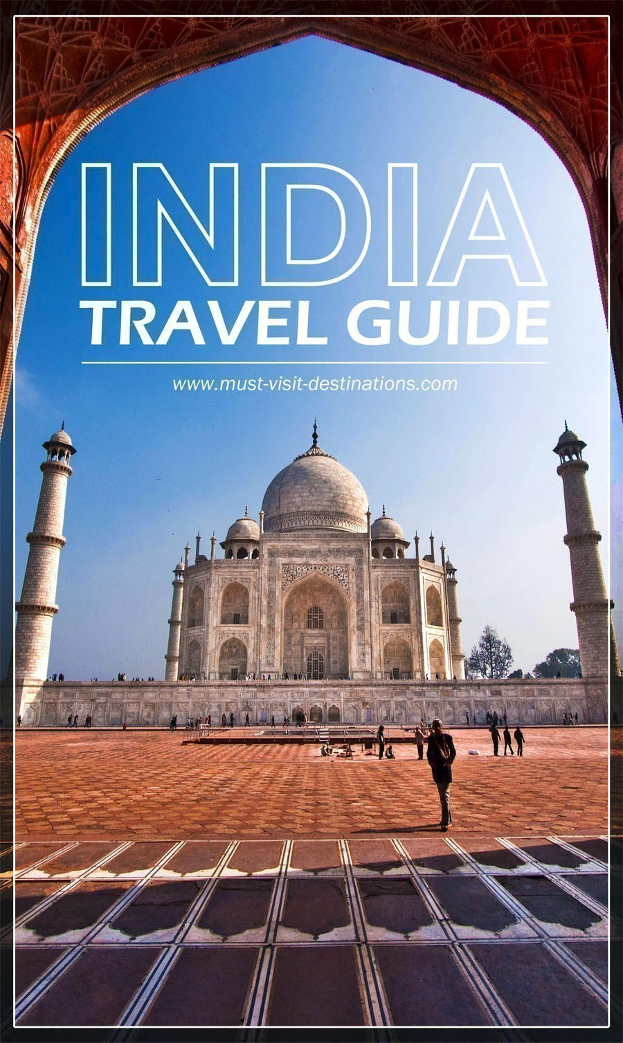 An awesome travel guide to help plan your trip to India. #travel #guide