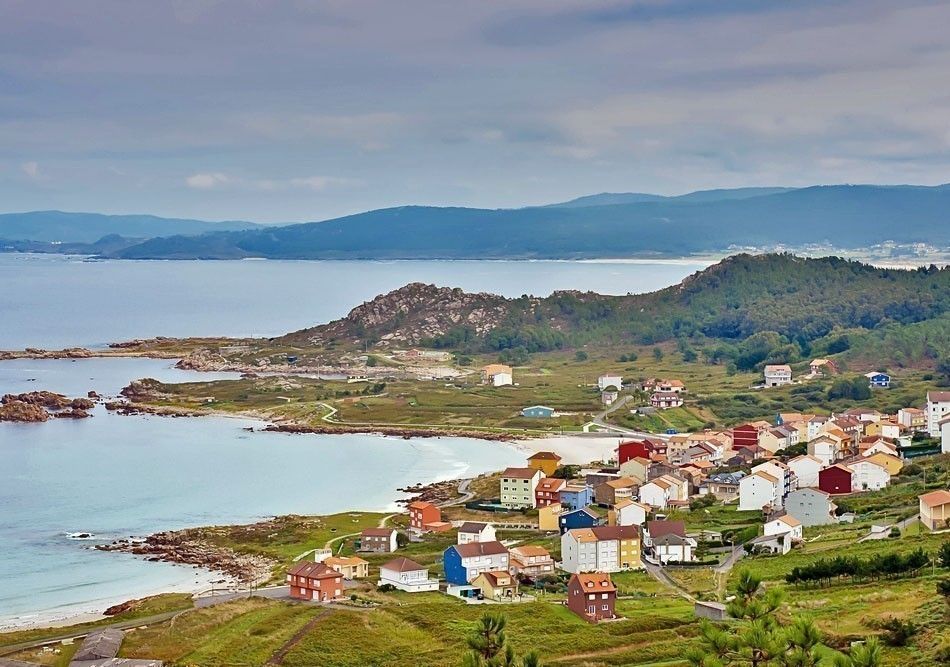 Beautiful view of Camelle in Galicia, Spain | Top 10 Backpacking Destinations Around the World