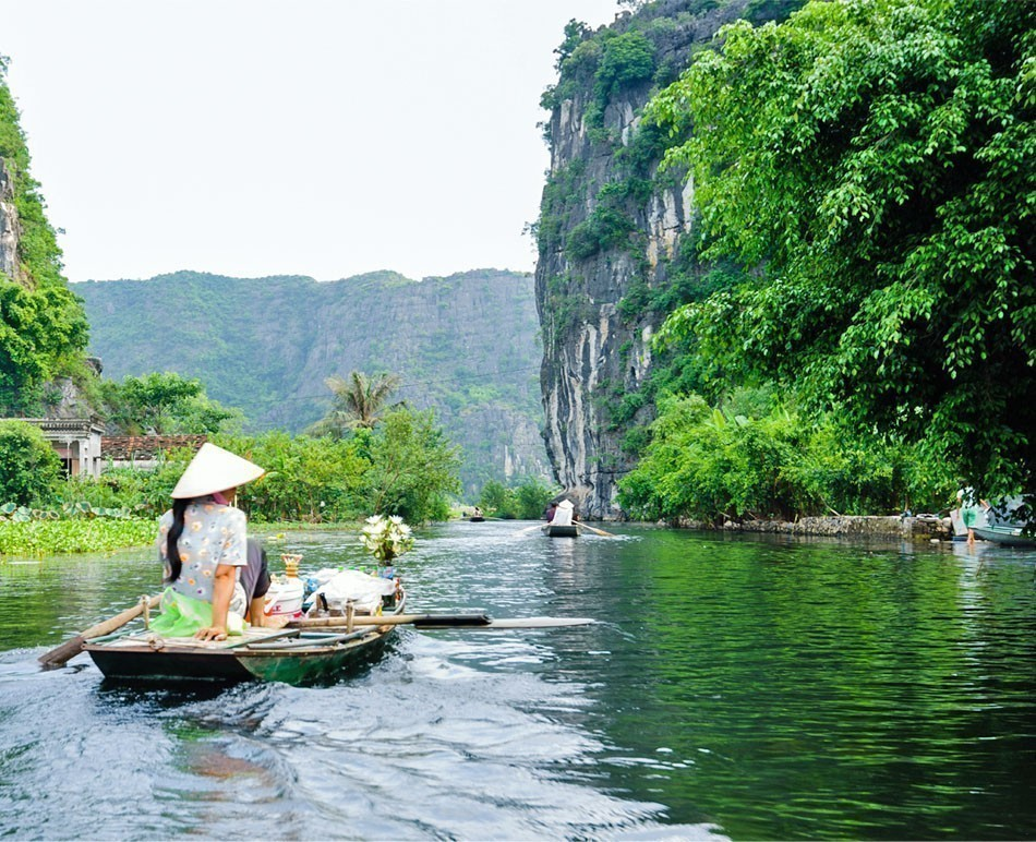 Tam Coc Grotto, Ninh Binh Province, Vietnam | TOP 10 Budget Destinations for 2016